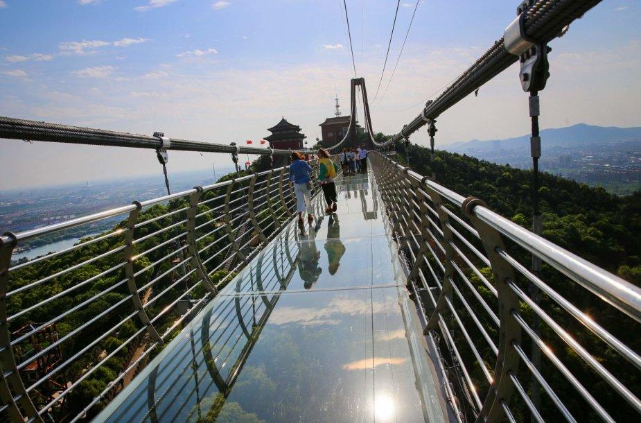Ilgiausias stiklinis tiltas pasaulyje