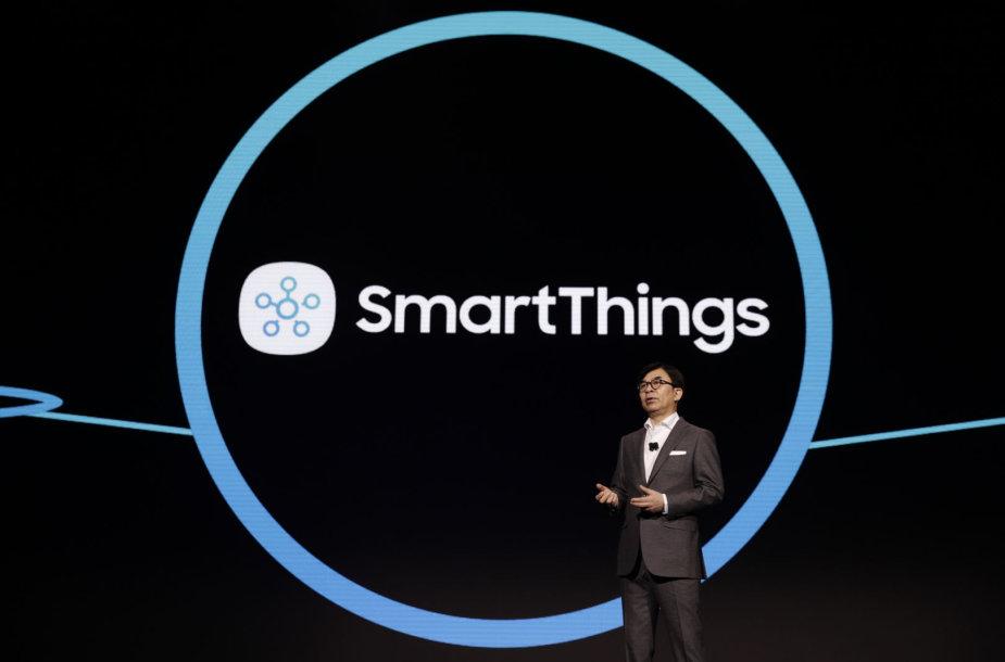 """""""Samsung Electronics"""" vadovas HS Kimas pasakoja, kaip jo įmonė sujungs viską"""
