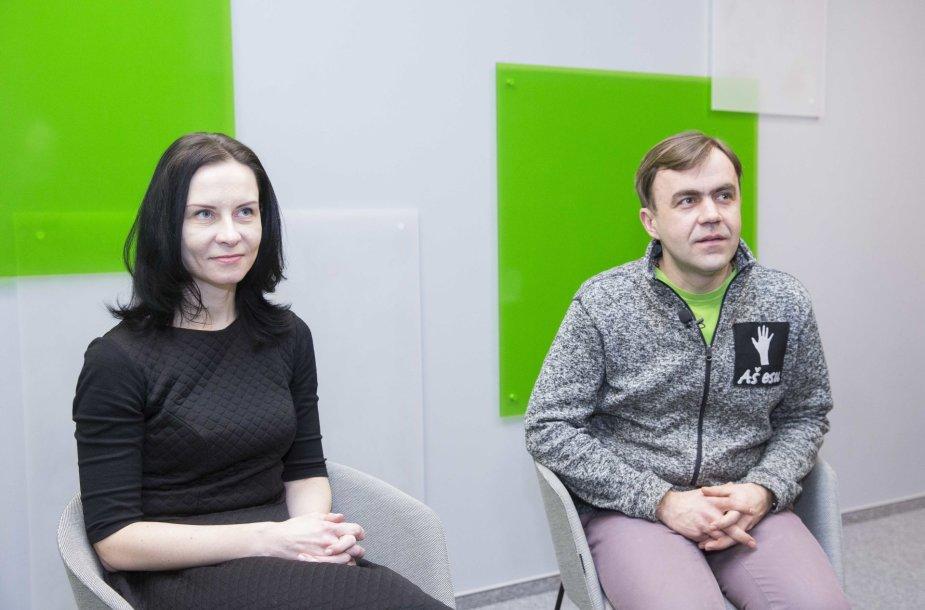 Ilona Laurinaitytė ir Kęstutis Dvareckas