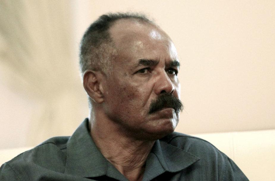 Eritrėjos prezidentas Isaiasas Afwerki