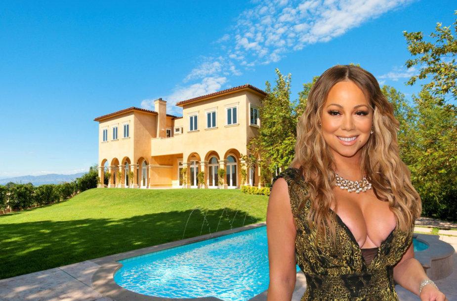 Mariah Carey nuomojasi vilą Beverli Hilse už 35 tūkst. dolerių