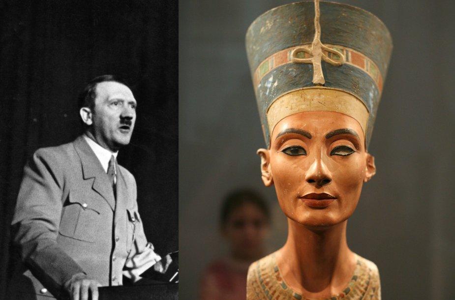Hitleris, Nefertitė