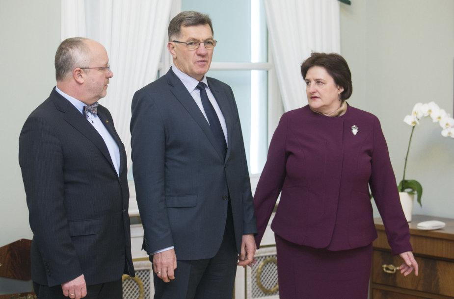 Juozas Olekas, Algirdas Butkevičius ir Loreta Graužinienė