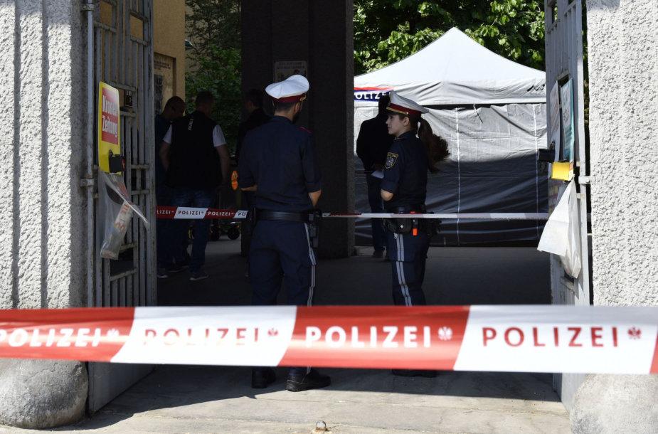 Policininkai Austrijoje