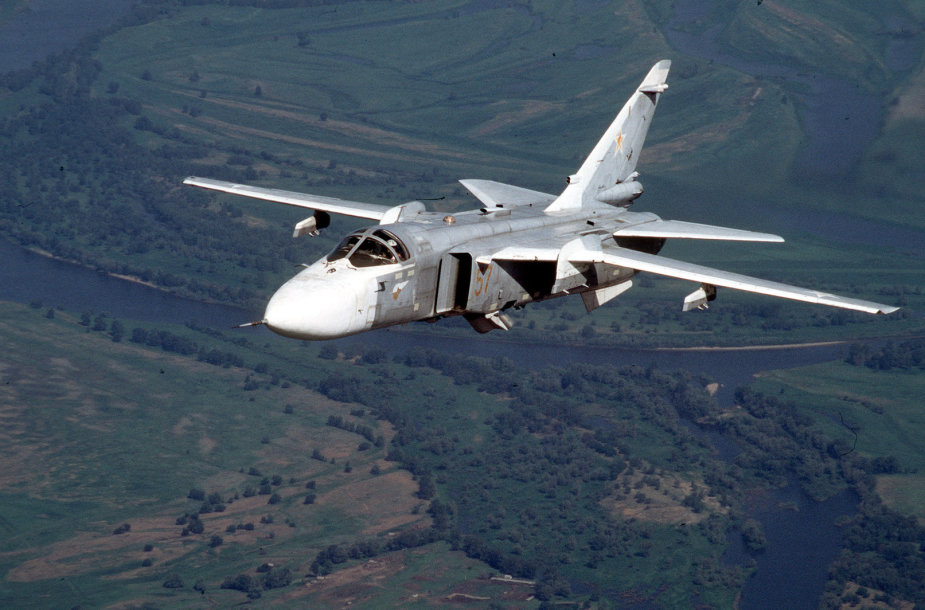 Rusijos bombonešis Su-24