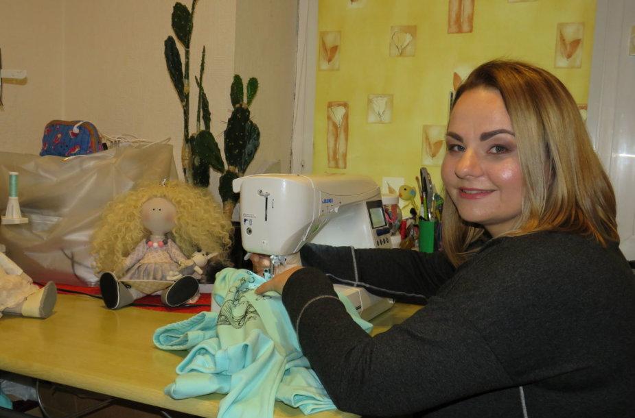 Irmos Juodviršienės siuvamos lėlės