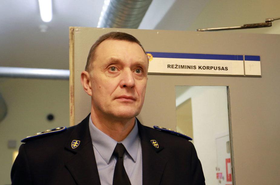 Kauno tardymo izoliatoriaus direktoriaus pavaduotojas Arvydas Venclovas