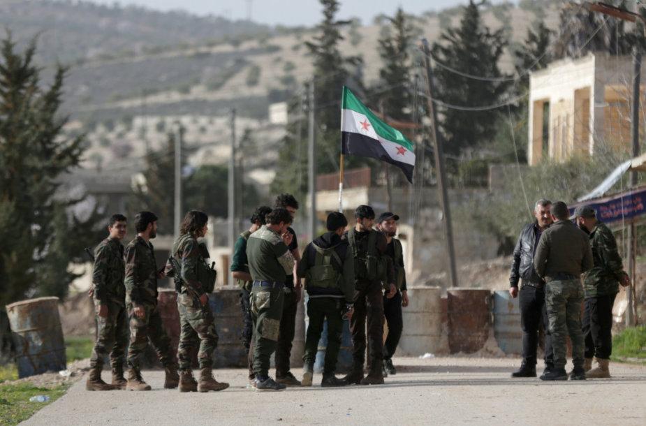 Sirijos demokratinės pajėgos Afrine