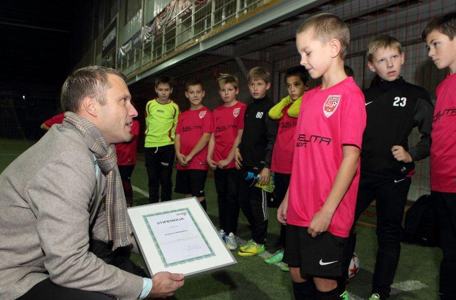 Futbolo stipendija