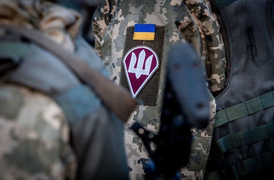 Ukrainos desantininkų kasdienybė užnugario bazėje