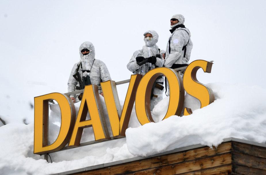 Saugumas Pasaulio ekonomikos forume, Davose