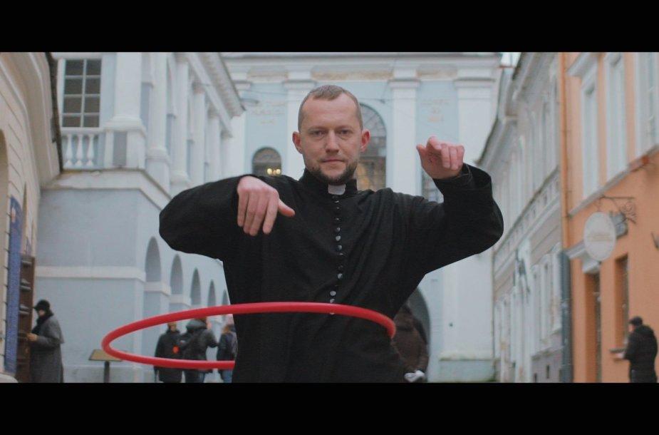 """Tomas Sinickis vaizdo klipe """"Vilnius"""""""