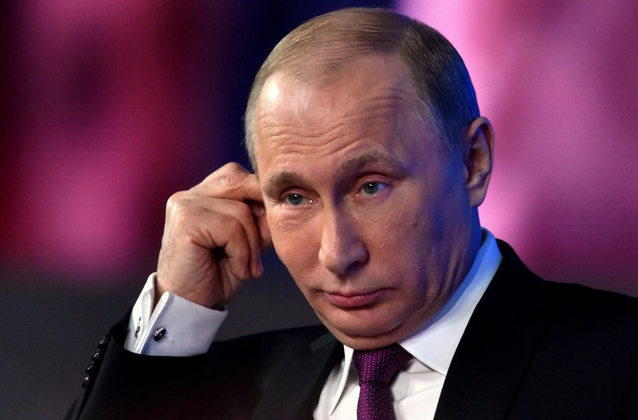 Rusijos prezidentas Vladimiras Putinas