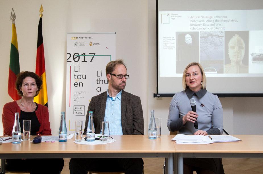 Lietuvos programos 2017 m. Leipcigo knygų mugėje pristatymas
