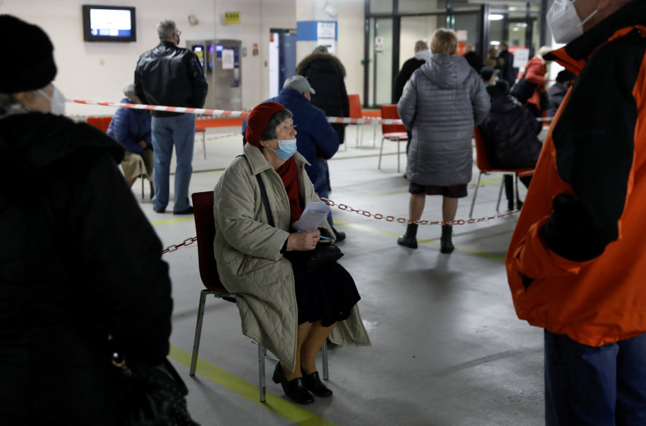 Skiepijimas nuo koronaviruso Lenkijoje