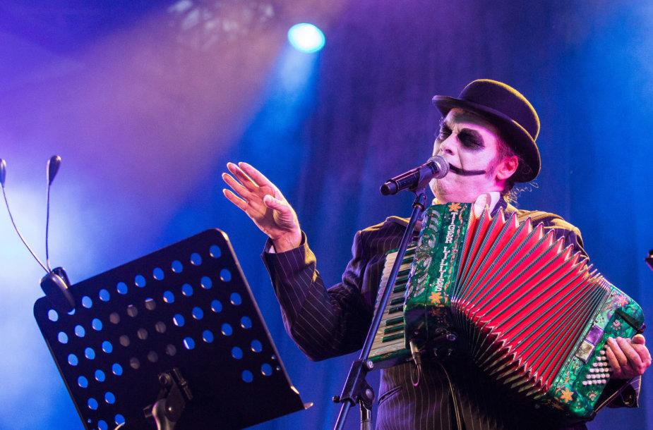 """The Tiger Lillies"" koncertas Vilniuje"