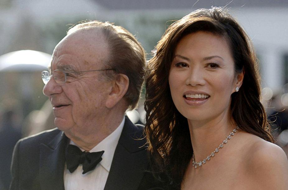 Rupertas Murdochas ir Wendi Deng Murdoch