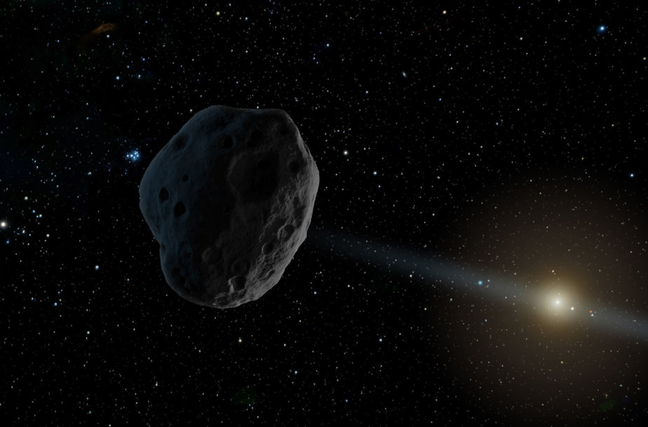 2016 WF9 pasieks Jupiterio orbitą