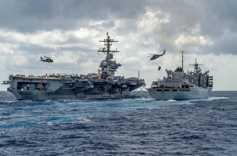JAV karo laivai Persijos įlankoje