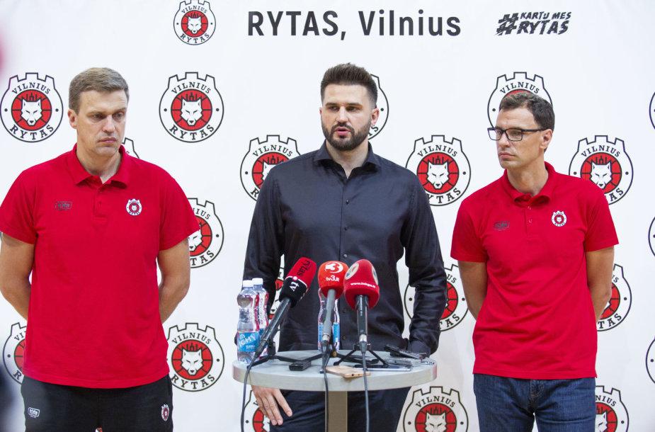 Dainius Adomaitis, Linas Kleiza, Darius Gudelis