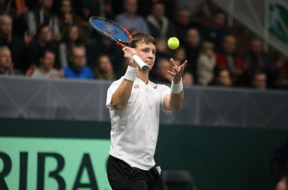 Daviso taurė 2018, antra diena: Lietuva – Estija