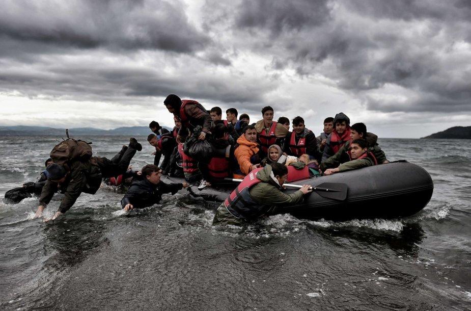Migrantai Juodojoje jūroje