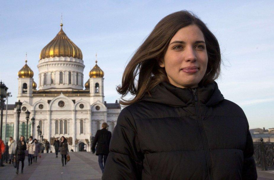 "Nadiežda Tolokonikova iš ""Pussy Riot"""