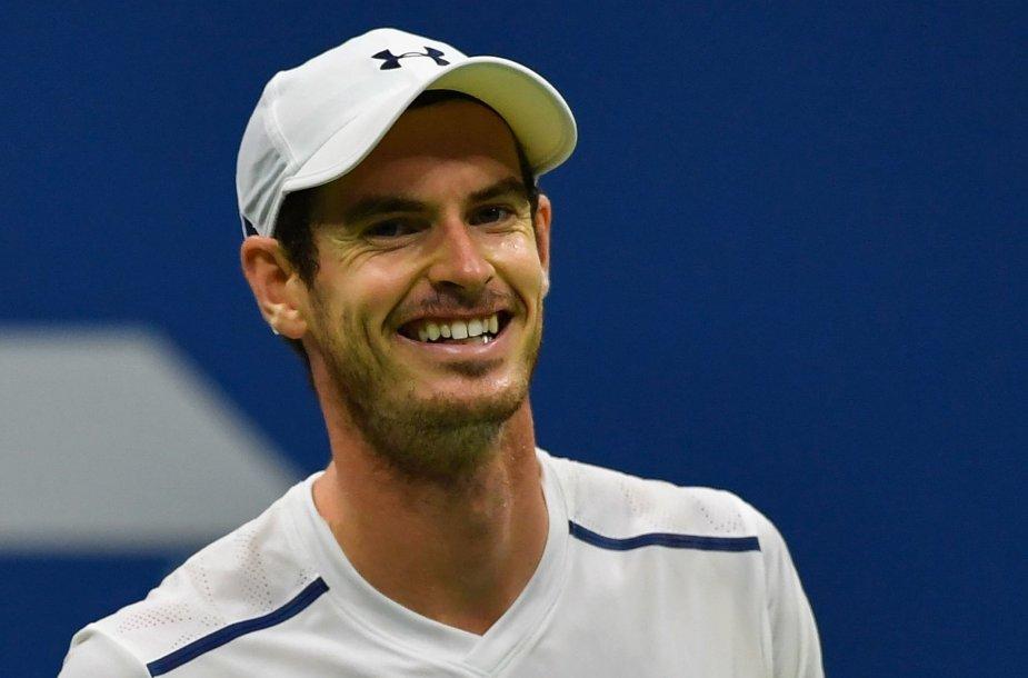 """US Open"": Andy Murray – Marcelis Granollersas"