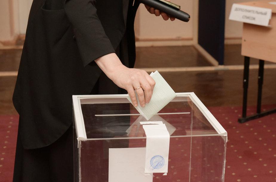 Balsavimas Abchazijoje