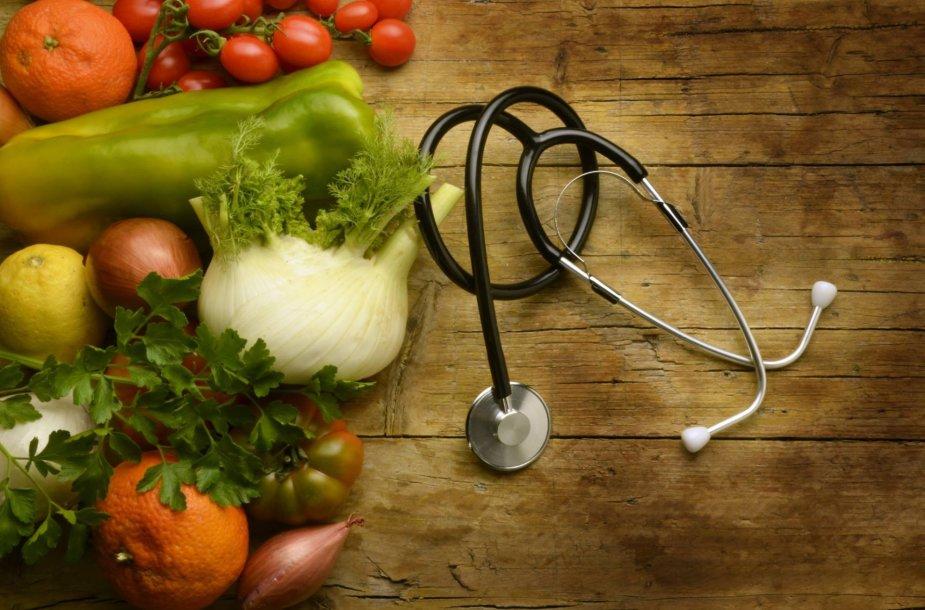 Vegetarizmas gali padėti sumažinti kraujospūdį.