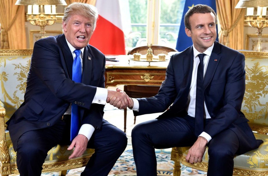 Donaldo Trumpo vizitas Prancūzijoje
