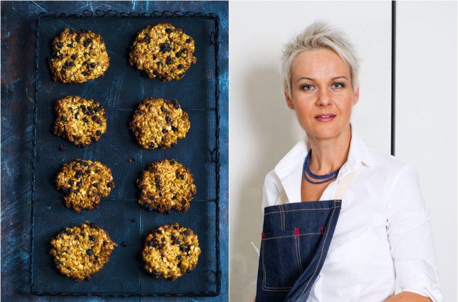 Nida Degutienė ir jos kepti sausainiai