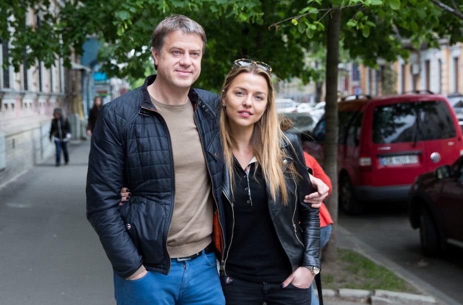 Vaida ir Rolandas Skaisgiriai atvyko į Kijevą
