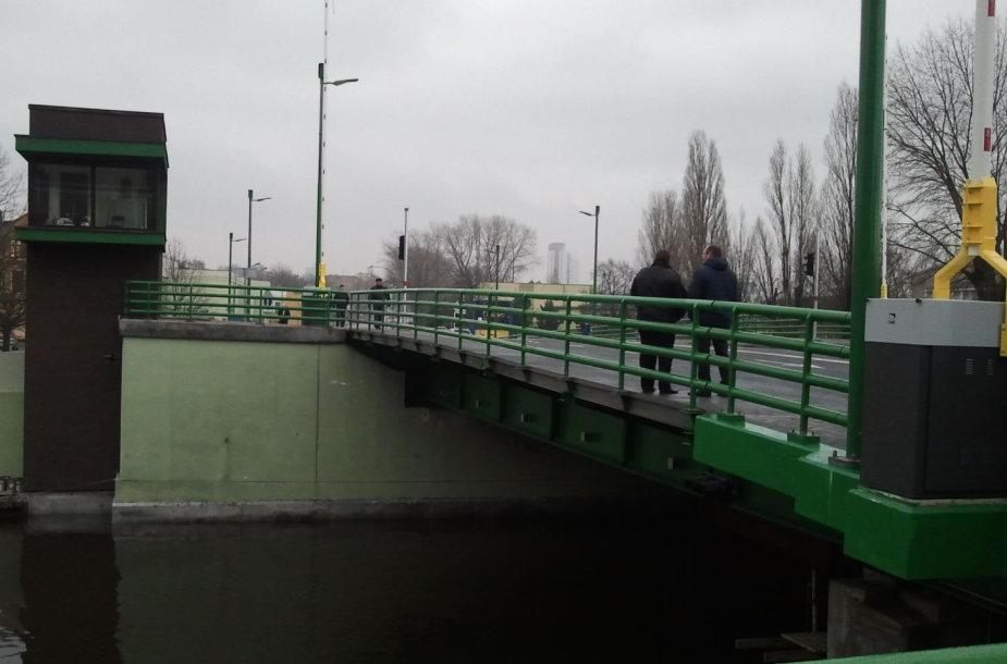 Po 9 mėn. trukusio remonto atidaromas Klaipėdos pilies tiltas