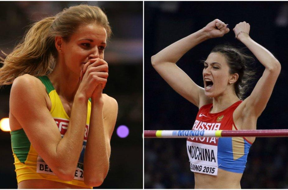 Airinė Palšytė ir Marija Kučina-Lasickienė
