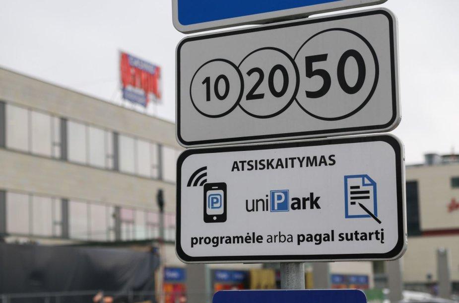 """Santariškių stovėjimo aikšteles remontuoti ėmėsi """"Unipark"""""""