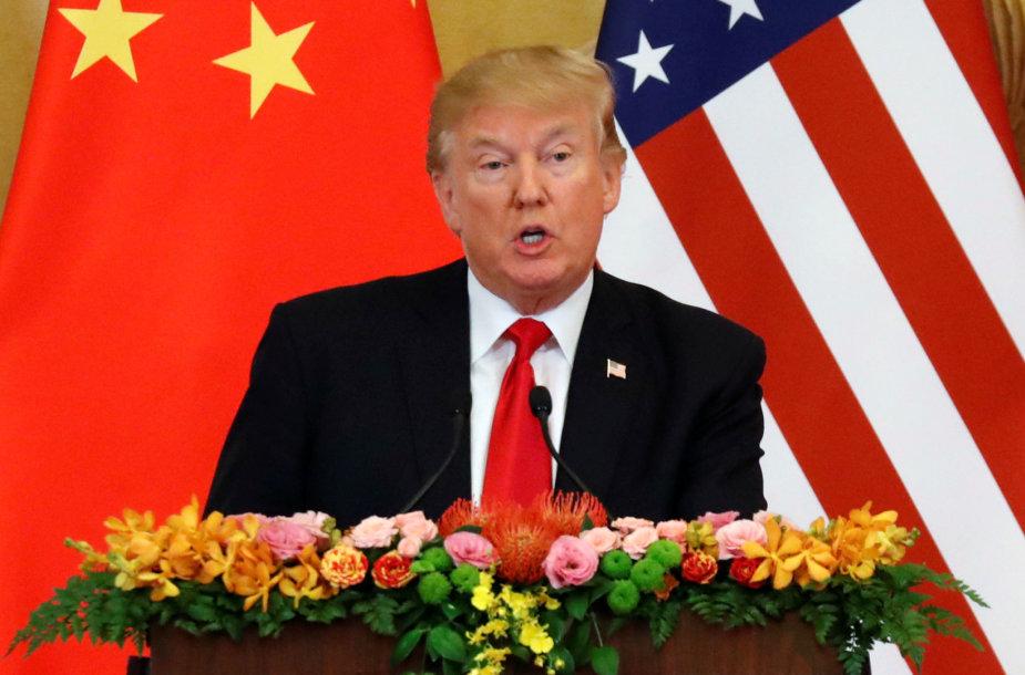 Donaldo Trumpo vizitas Kinijoje