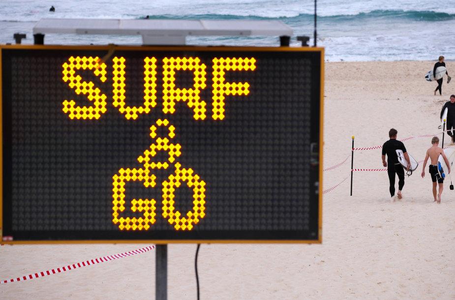 Paplūdimys Australijoje