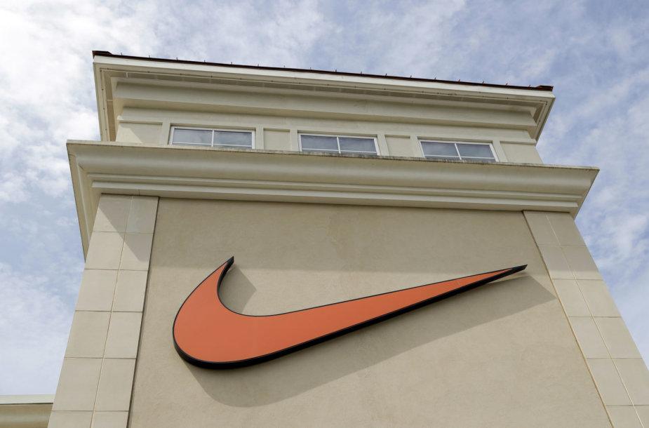 """""""Nike"""" ženklas"""