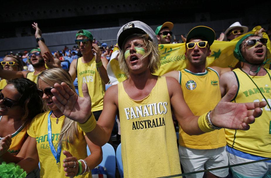 """""""Australian Open"""" fanai"""