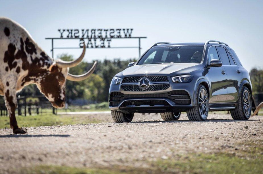 """Naujasis """"Mercedes-Benz GLE"""""""