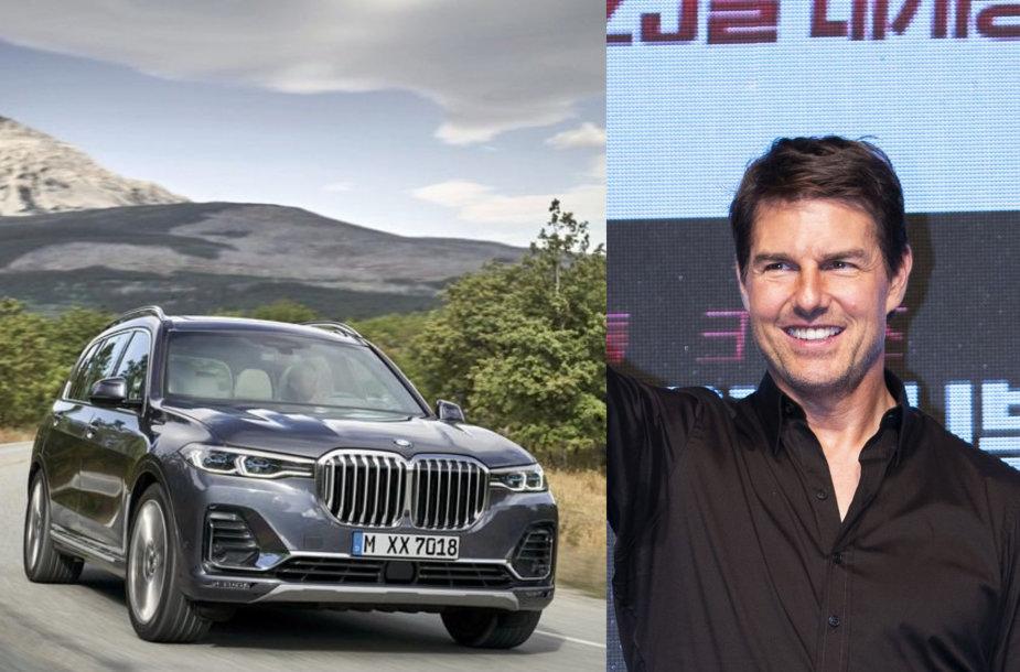 BMW X7, Tomas Cruise'as