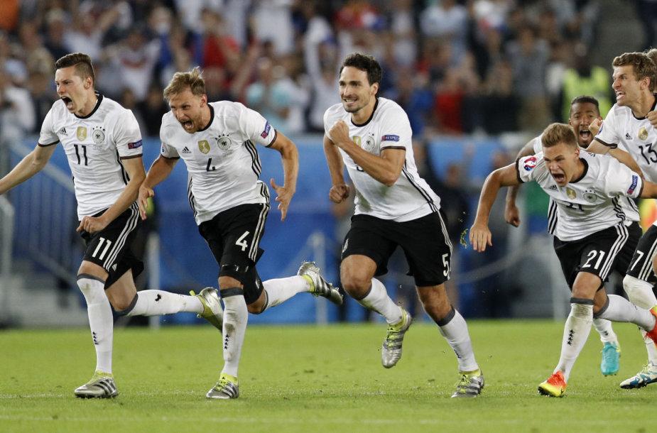 Vokiečių triumfas