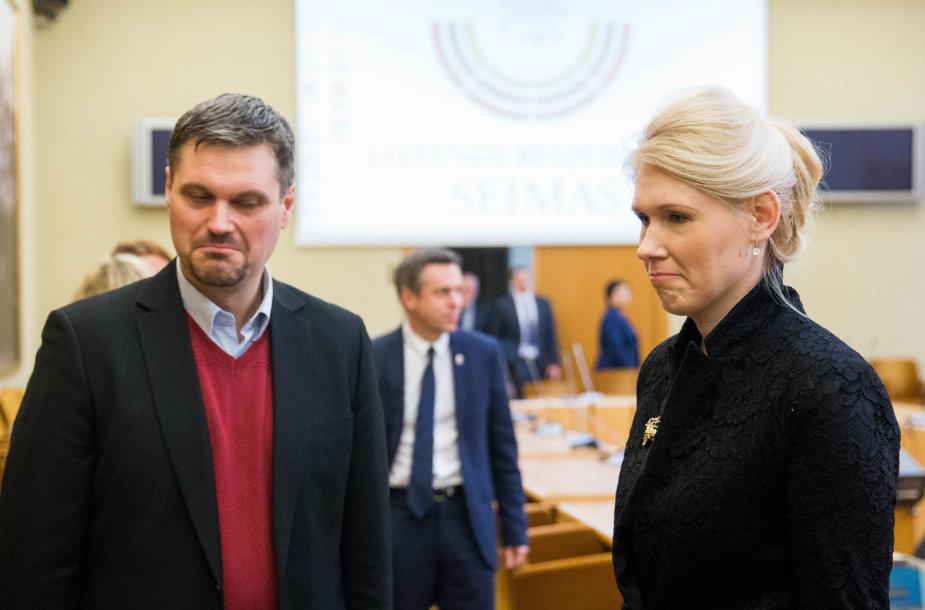 Vincentas Vobolevičius ir Laura Matjošaitytė