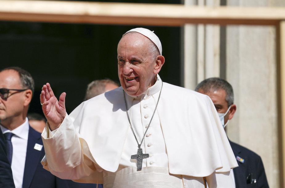 Popiežius Pranciškus Slovakijoje