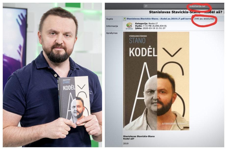 Stanislavas Stavickis-Stano ir internete platinama knyga