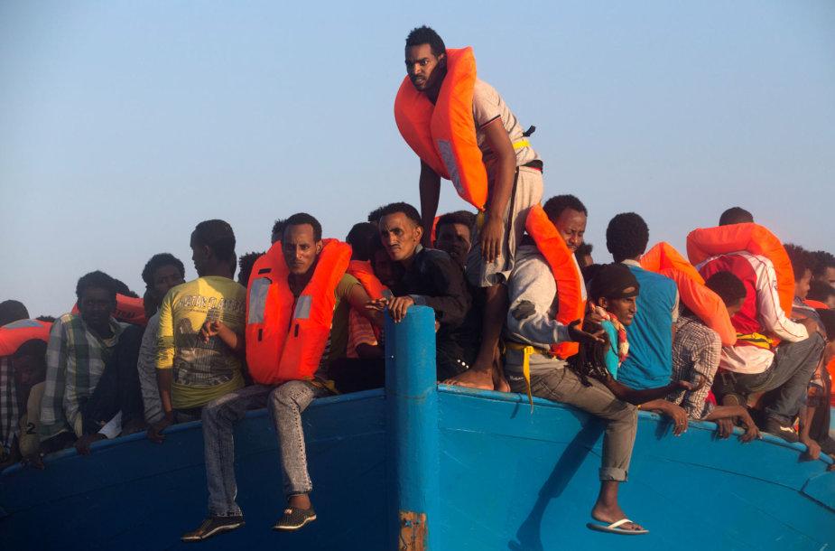 Pabėgėliai iš Eritrėjos