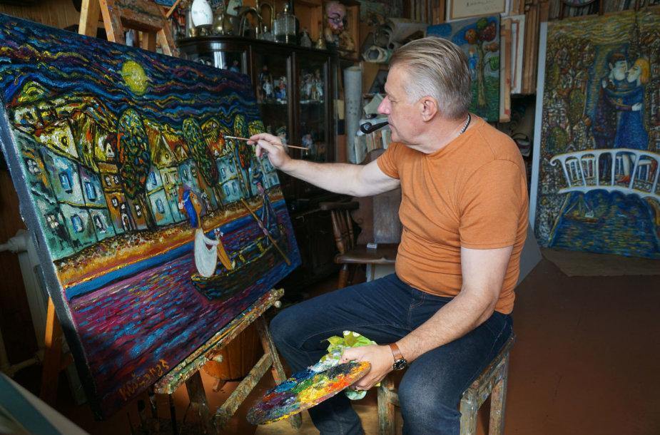 Dailininkas Anatolijus Michailovas-Klošaras