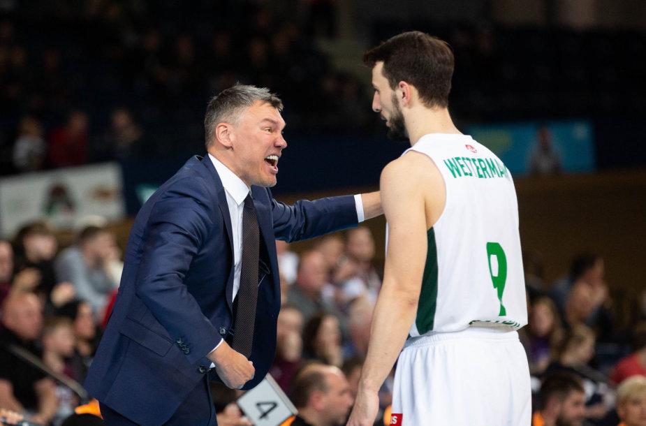 Šarūnas Jasikevičius ir Leo Westermannas