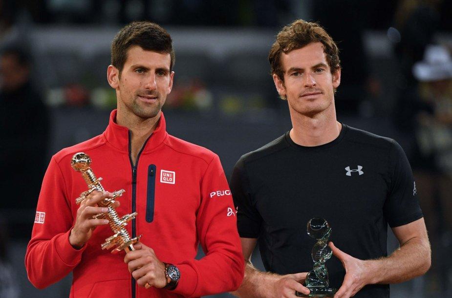 Novakas Džokovičius prieš Andy Murray